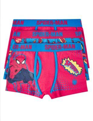 Яркие хлопковые трусы-транки Spider-Man™ для мальчика 3-10 лет T714229