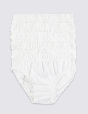 Pure Cotton Slips (18 Months - 16 Years), WHITE, catlanding