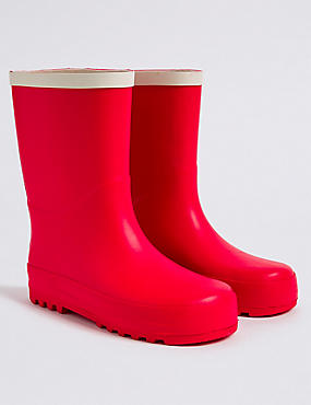 Kids' Wellies, RED, catlanding