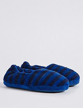 Kids' Slip-on Slippers, BLUE MIX, catlanding