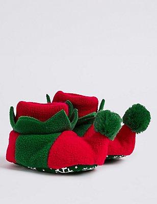 Chaussures bébés sans lacets à motif elfe, ROUGE ASSORTI, catlanding