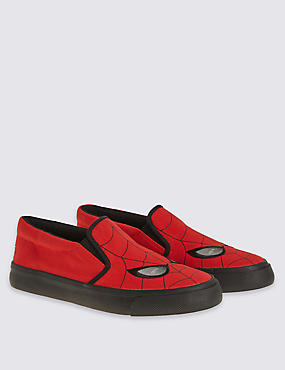Kids' Spider-Man™ Slip-on Trainer, RED, catlanding