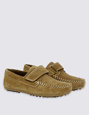 Kids' Driving Shoes, TAN, catlanding