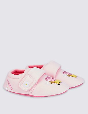 Kids' Peppa Pig™ Slippers, PALE PINK, catlanding