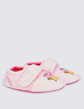 Kids' Peppa Pig™ Slippers, PALE PINK, catlanding