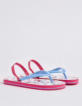 Kids' Peppa Pig™ Flip-flops, MULTI, catlanding