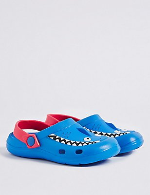 Kids' Slip-on Clogs, BLUE MIX, catlanding