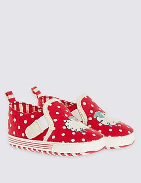Chaussures bébés sans lacets, ROUGE ASSORTI, catlanding