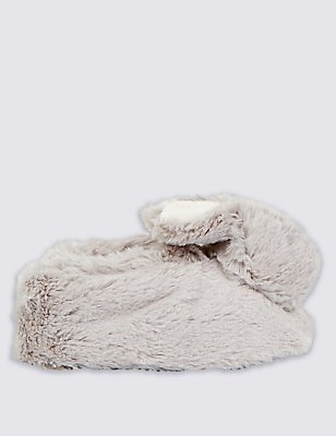 Kids' Bunny Slip-on Pram Shoes, CREAM, catlanding