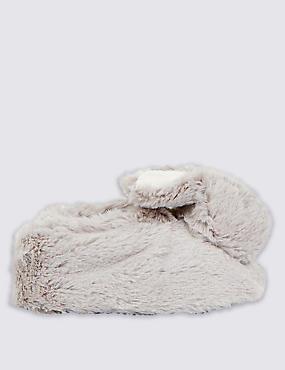 Kids' Bunny Slip-on Pram Shoes, CREAM, catlanding