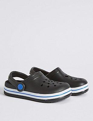 Kids' Slip-on Shoes, BLACK, catlanding
