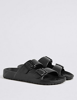 Kids' Lightweight Beach & Jelly Sandals , BLACK, catlanding