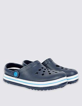 Kids' Slip-on Shoes, NAVY, catlanding