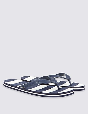 Kids' Flip-flops , NAVY MIX, catlanding