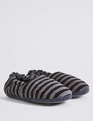 Kids' Slip-on Slippers, GREY MIX, catlanding