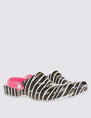 Kids' Slip-on Shoes, WHITE MIX, catlanding