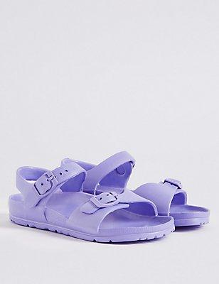 Kids' Lightweight Sandals, LILAC, catlanding