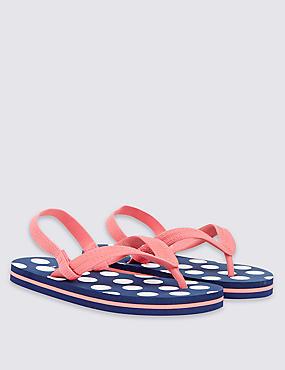 Kids' Flip-flops , MULTI, catlanding