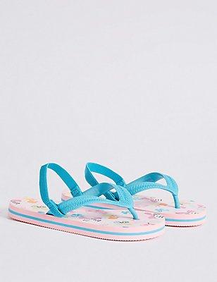 Kids' Flip-flops, MULTI, catlanding
