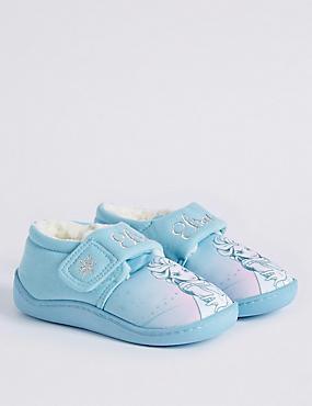 Kids' Disney Frozen™ Slippers, PALE BLUE MIX, catlanding