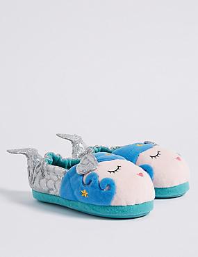 Kids' Mermaid Slippers, MULTI, catlanding
