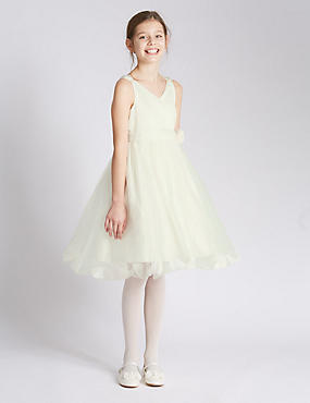 Sleeveless Petal Dress (7-14 Years)