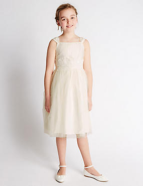 Sleeveless Tulle Dress (7-14 Years)