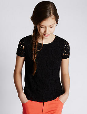 Lace Top (5-14 Years)