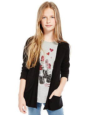 Open Front Cardigan (5-14 Years)