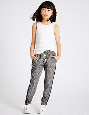 All Over Print Trousers (3-14 Years), MULTI, catlanding