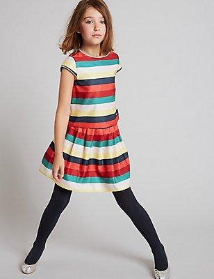 Striped Skirt (3-14 Years), MULTI, catlanding
