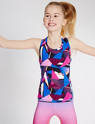 Sport All Over Print Vest (5-14 Years), MULTI, catlanding