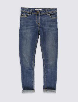 Потертые джинсы скинни из денима (5-14 лет) T743212M