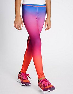 Sport Dip Dye Leggings (5-14 Years), MULTI, catlanding