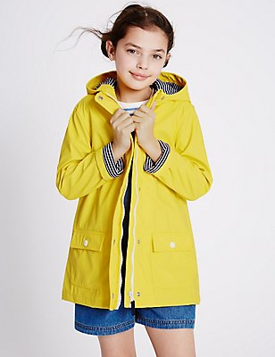 Fisherman Raincoat (3-14 Years), YELLOW, catlanding