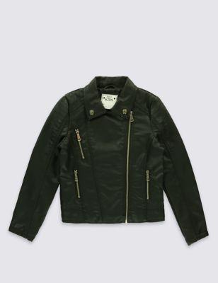 Куртка-косуха Stormwear™ из искусственной кожи 3-14 лет