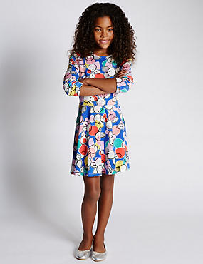 Cotton Rich Floral Dress with StayNEW™ (5-14 Years)