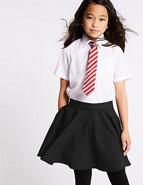 Skater Skirt (2-16 Years), BLACK, catlanding