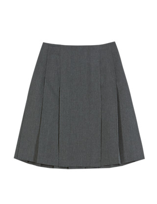 Girls' Crease Resistant Adjustable Waist Pleated Skirt with Triple Action Stormwear™ Clothing