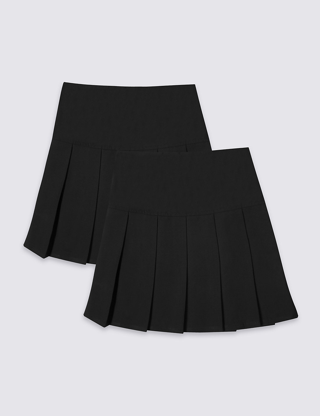 pleated school skirt dress ala