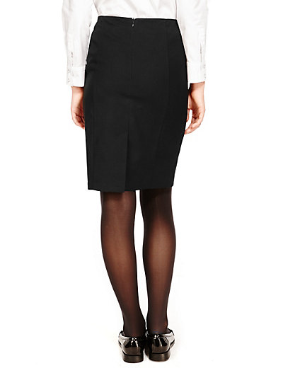 Senior Girls' Crease Resistant Pencil Skirt with Triple Action Stormw