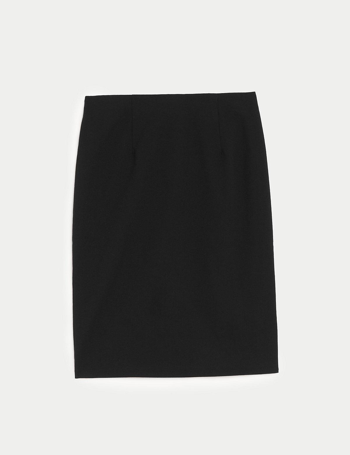 Длинная юбка-карандаш для девочек старшего возраста