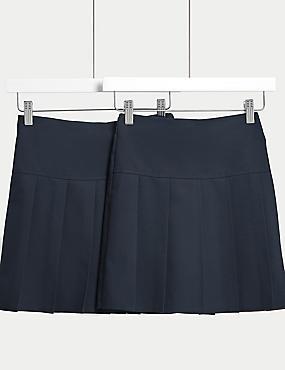 2er-Pack Röcke für Mädchen, MARINEBLAU, catlanding