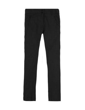 Girls' Slim Leg Trousers with Zip Pocket & Triple Action Stormwear™