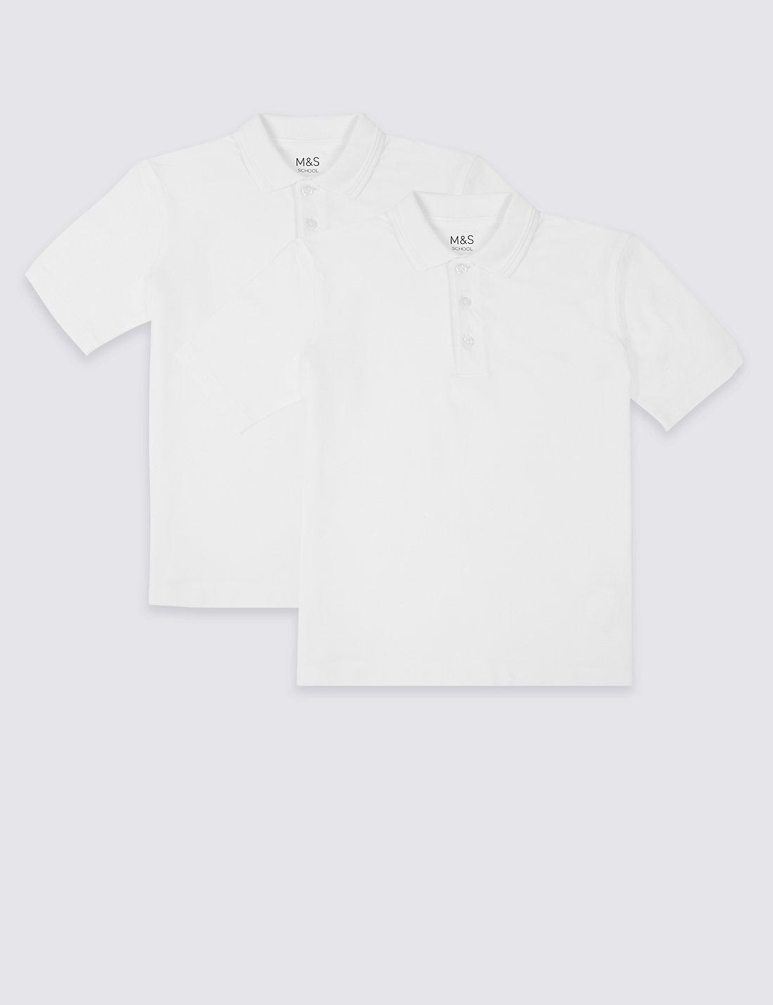 Polo shirt design editor - 2 Pack Skin Kind Unisex Pure Cotton Polo Shirts
