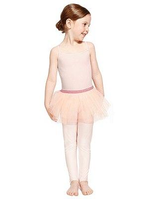 Girls' Cotton Rich Ballet Tutu Dress, PINK, catlanding