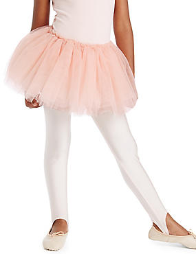 Jupe tutu style patineuse pour fille, ROSE, catlanding