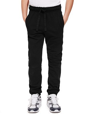 Boys' Active Sport™ Joggers with StayNEW™ , BLACK, catlanding