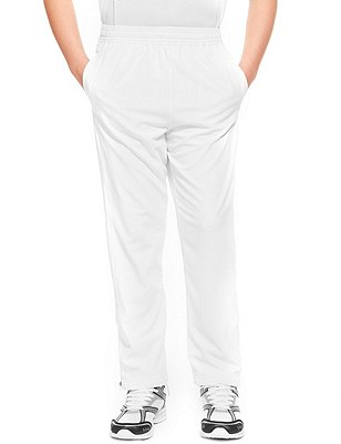 Boys' Cricket Trousers (Older Boys), WHITE, catlanding