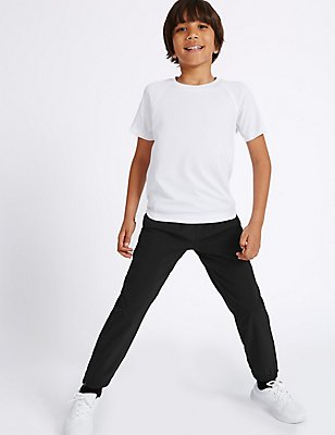 Boys' Performance Joggers, BLACK, catlanding